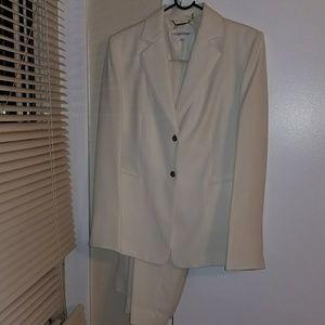 Calvin Klein 2 piece business pants suit